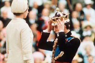 50 лет спустя: вспоминаем, как королева Елизавета II впервые надела корону на голову принца Чарльза