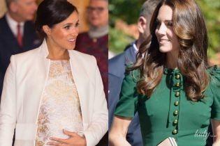 Каждой по Dolce & Gabbana: битва образов герцогинь Сассекской и Кембриджской