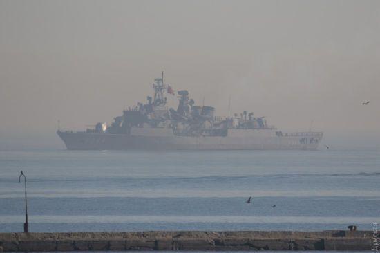 До Одеси прибули турецькі військові кораблі
