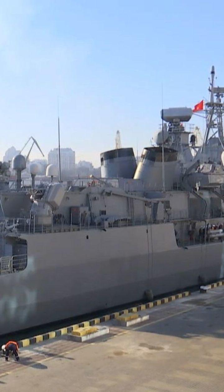 В Одессу на обучение прибыли судна турецкого флота