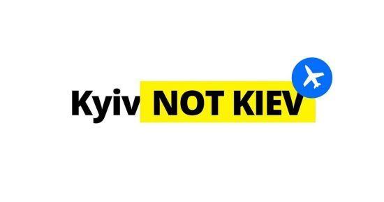 #KyivNotKiev. В аеропорту Вільнюса змінили написання назви Києва