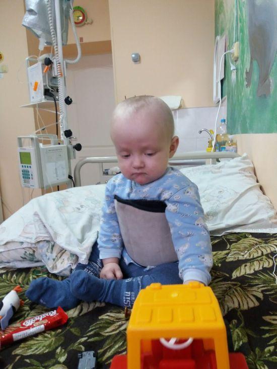 Допоможіть врятувати життя 1-річного Богданчика
