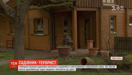 Поліція Німеччини підозрює 59-річного чоловіка в підкиданні саморобних бомб
