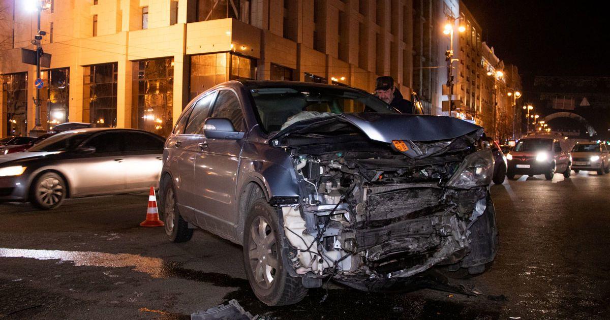 Фото з місця аварії @ Информатор