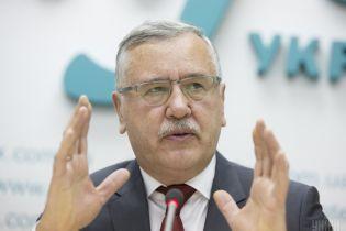Полиция получила данные о незаконных взносах в фонд кандидата в президенты Гриценко