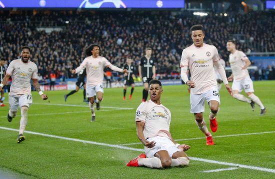 """Паризьке диво. """"Манчестер Юнайтед"""" на останніх хвилинах вирвав путівку до чвертьфіналу Ліги чемпіонів"""