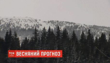 Синоптики предупреждают об опасности схода лавин в Карпатах