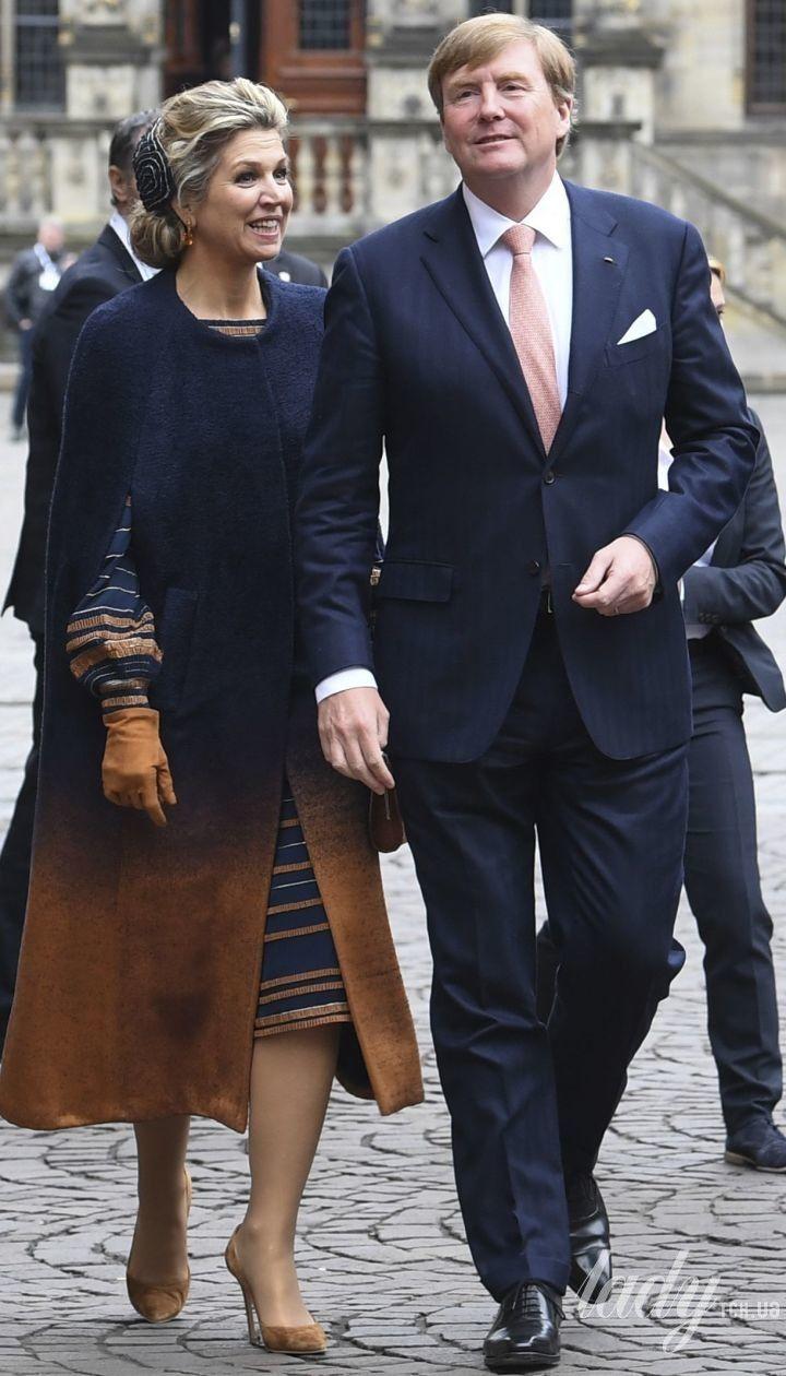 Королева Максима и король Виллем Александр