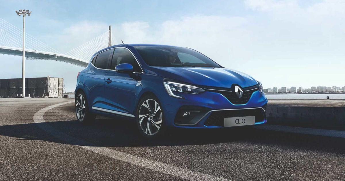 Renault Clio @ motor1.com