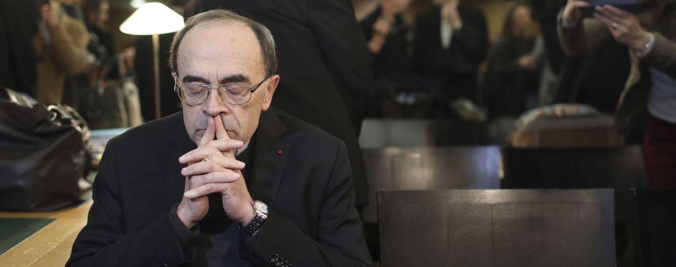 Французький кардинал отримав умовний термін за те, що приховував сексуальні злочини священика-педофіла