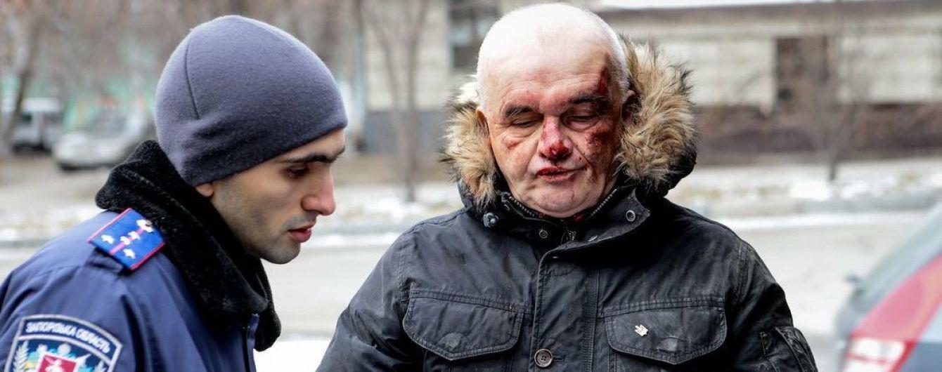 Нападение на активиста Антимайдана в Запорожье: пострадавший оказался скандальным рецидивистом