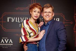 Відома телеведуча показала, як з коханим-віце-прем'єром Розенком в кіно сходила