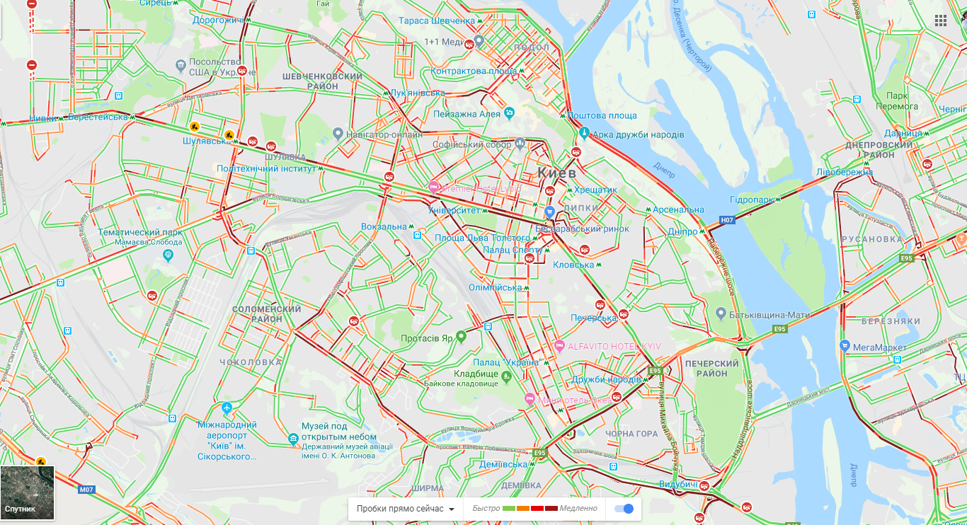 мапа 7 березня