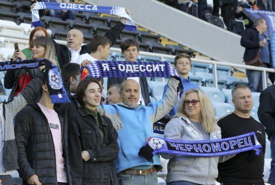 Футбольний матч в Одесі перенесли через марафон