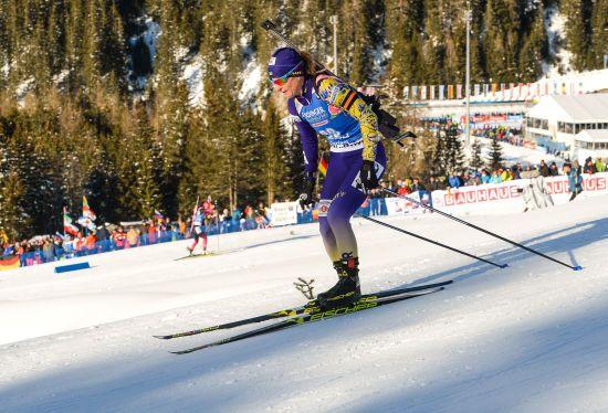 Валя Семеренко відкриє спринт на Чемпіонаті світу з біатлону