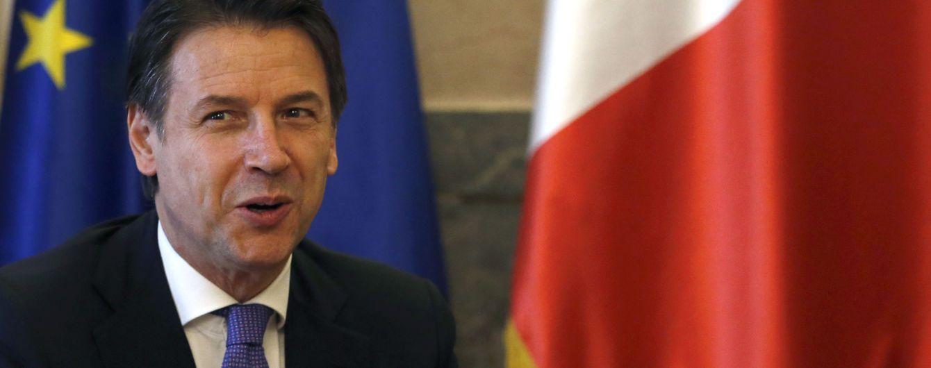 Премьер Италии Конте официально подал в отставку