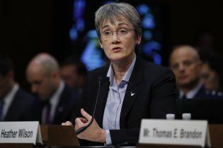 Главная претендентка на пост министра обороны США заявила об отставке с должности главы ВВС