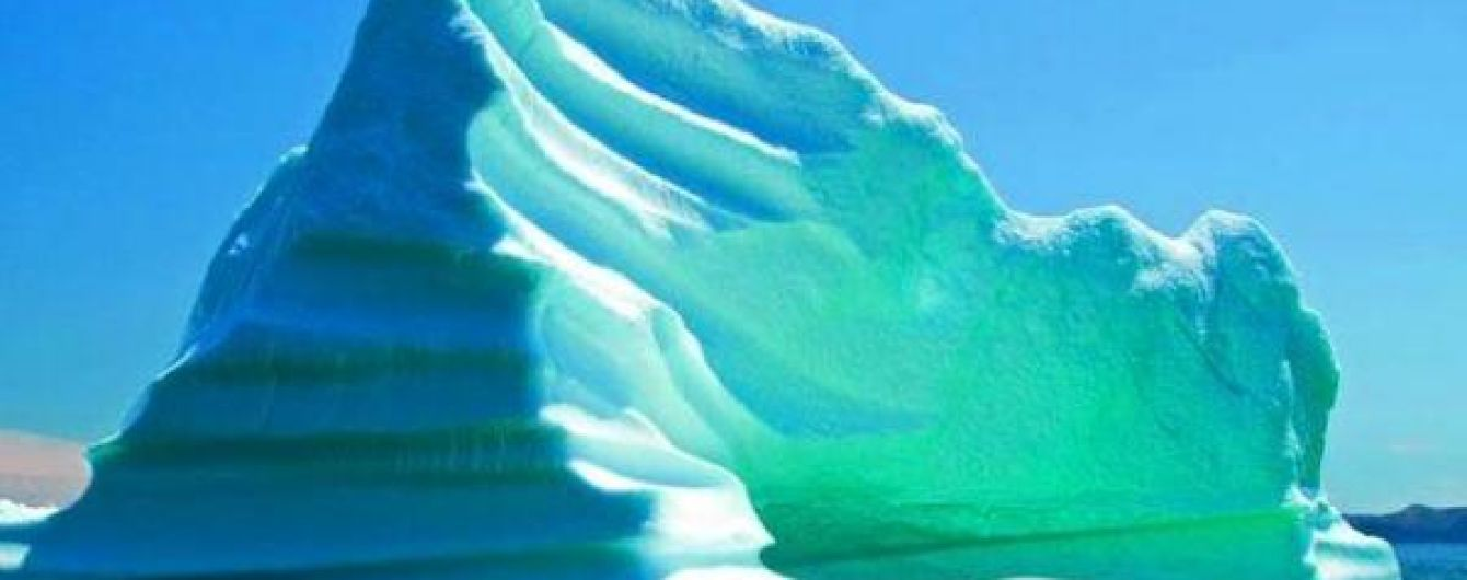 Американські вчені пояснили появу зелених айсбергів