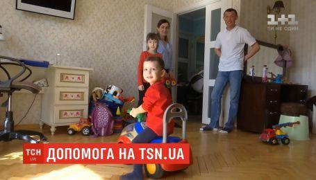 2-річний Сашко потребує допомоги українців