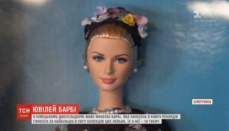 Самая известная в мире кукла Барби празднует 60-летний юбилей