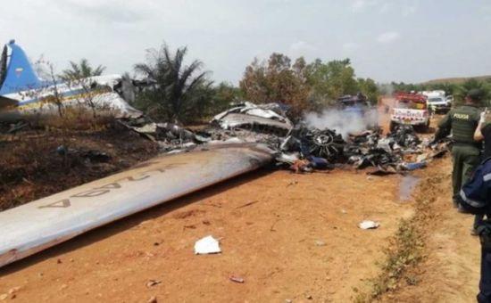В Колумбії розбився пасажирський літак. Загинули 14 людей