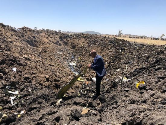 Авіакатастрофа в Ефіопії: жодна із осіб на борту не вижила