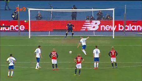 Динамо - Арсенал-Київ - 4:0. Відео голу Циганкова