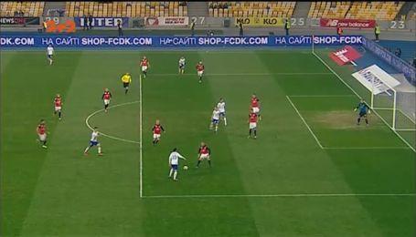 Динамо - Арсенал-Київ - 3:0. Відео голу Гармаша
