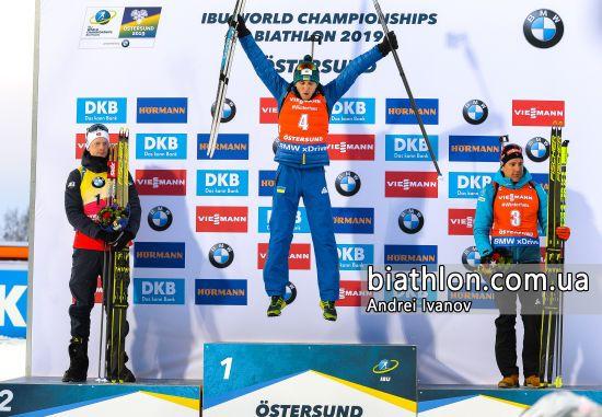 Історична перемога. Відео тріумфальної для України гонки на Чемпіонаті світу з біатлону