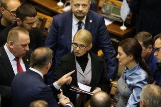 """Тимошенко сместила Порошенко со второго места в рейтинге симпатий избирателей - """"Рейтинг"""""""