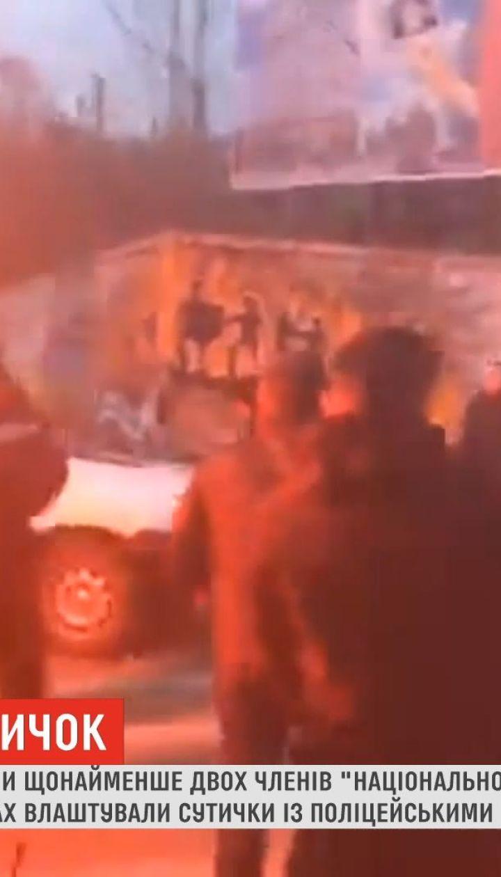 Полиция задержала двух причастных к столкновениям в Черкассах