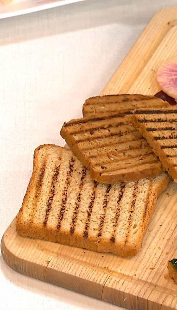 Легкие весенние бутерброды со шпинатом от Руслана Сеничкина