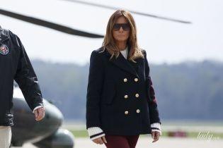 Битва образов Мелании Трамп: кеды vs сапоги