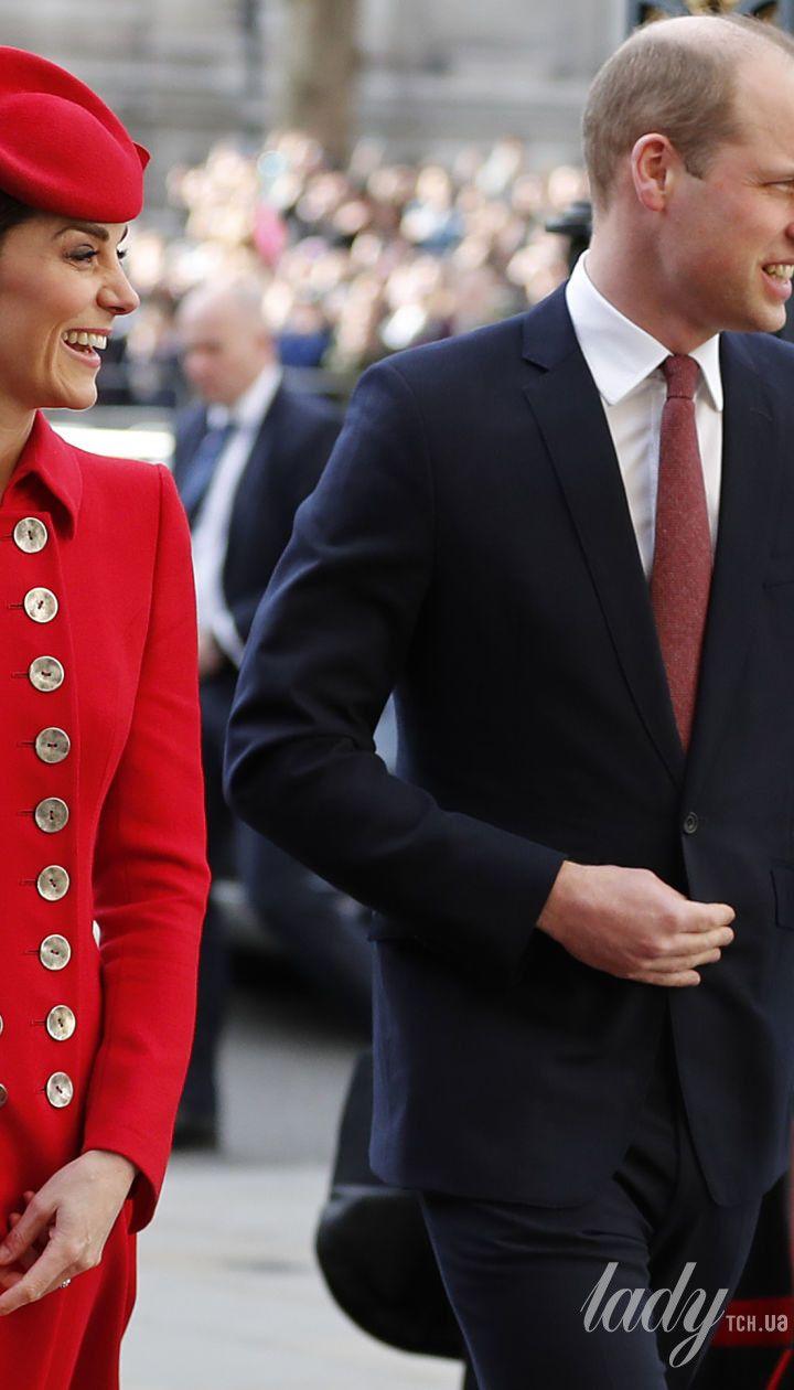 Герцогиня Кэтрин и принц Уильям