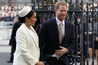 У сукні від Victoria Beckham: герцогиня Сассекська і принц Гаррі знову вийшли у світ