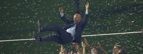 Зідана визнали найкращим тренером в історії Ліги чемпіонів