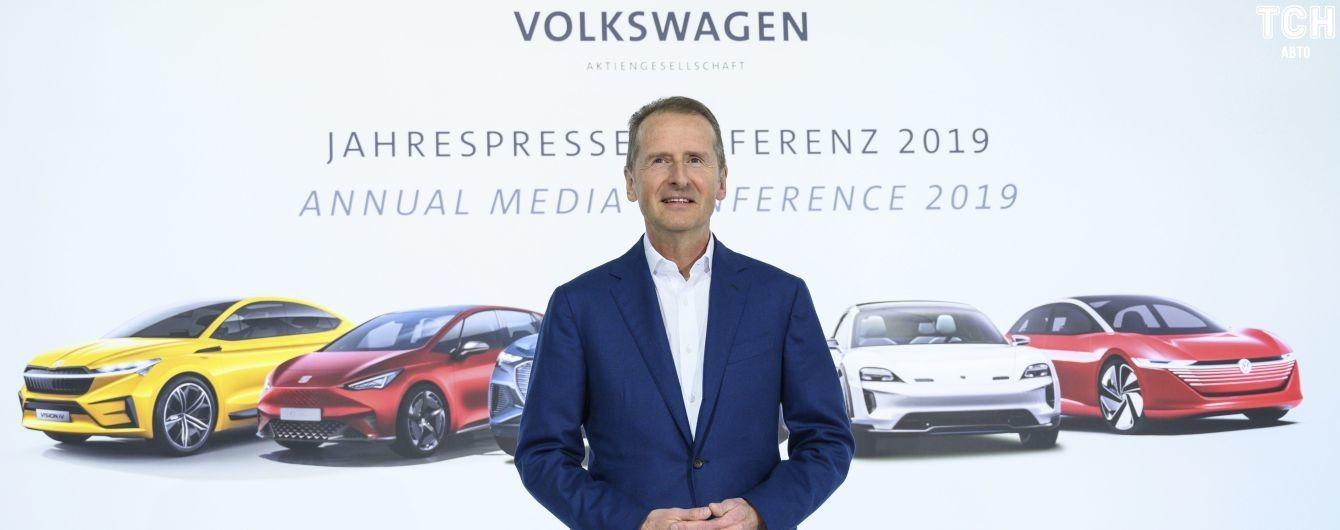 Volkswagen планирует выпустить 70 новых моделей электрокаров