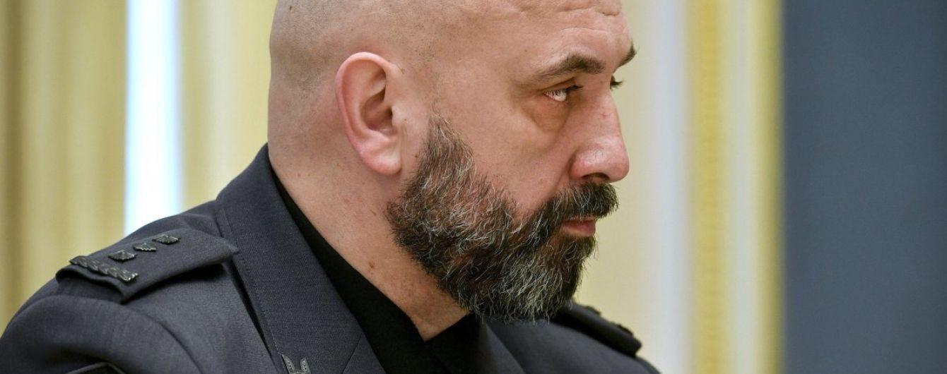 Кривонос не хоче міняти посаду в РНБО на Генштаб або Міноборони