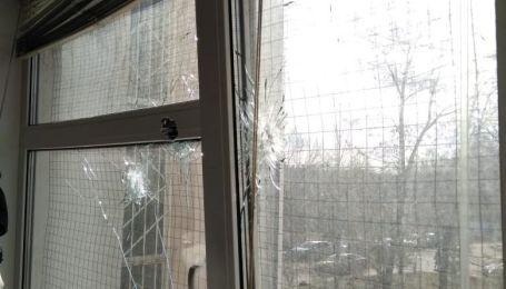 Здание Голосеевского суда обстреляли из огнестрельного оружия