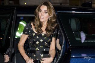 Повторила образ: герцогиня Кембриджська в сукні Alexander McQueen відвідала гала-вечір у Портретній галереї