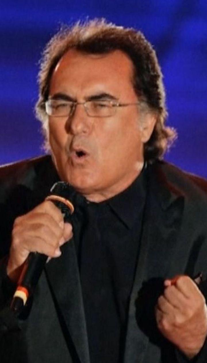 Італійському співаку Альбано Каррізі заборонили в'їзд до України