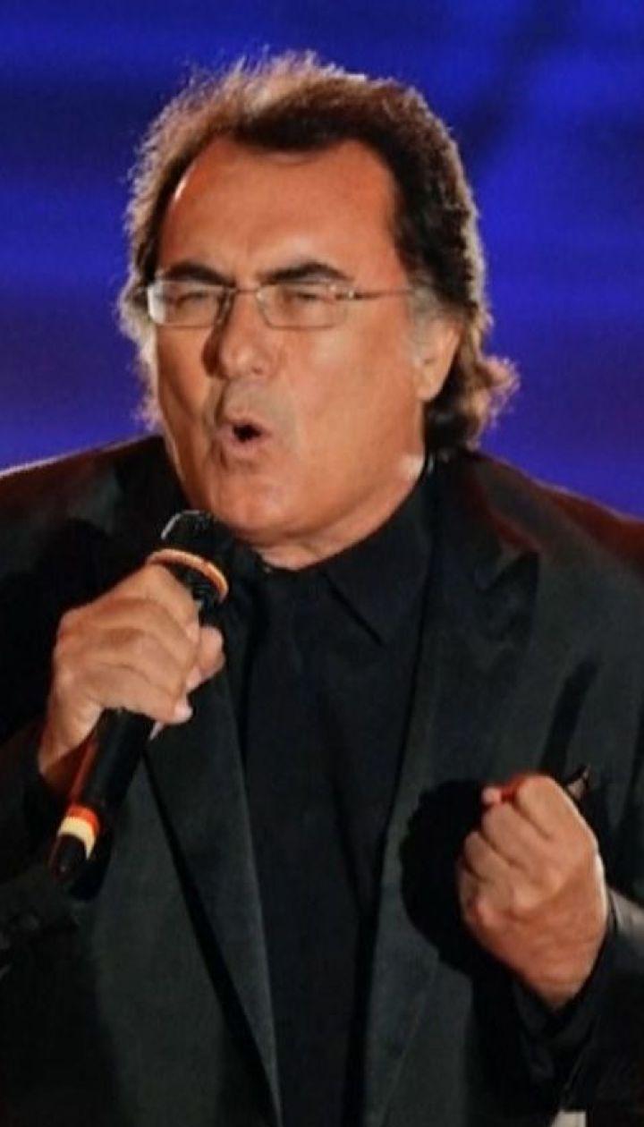 Итальянскому певцу Альбано Карризи запретили въезд в Украину