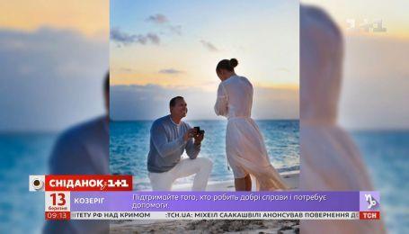 Дженнифер Лопес поделилась фотографиями со своей помолвки на берегу моря