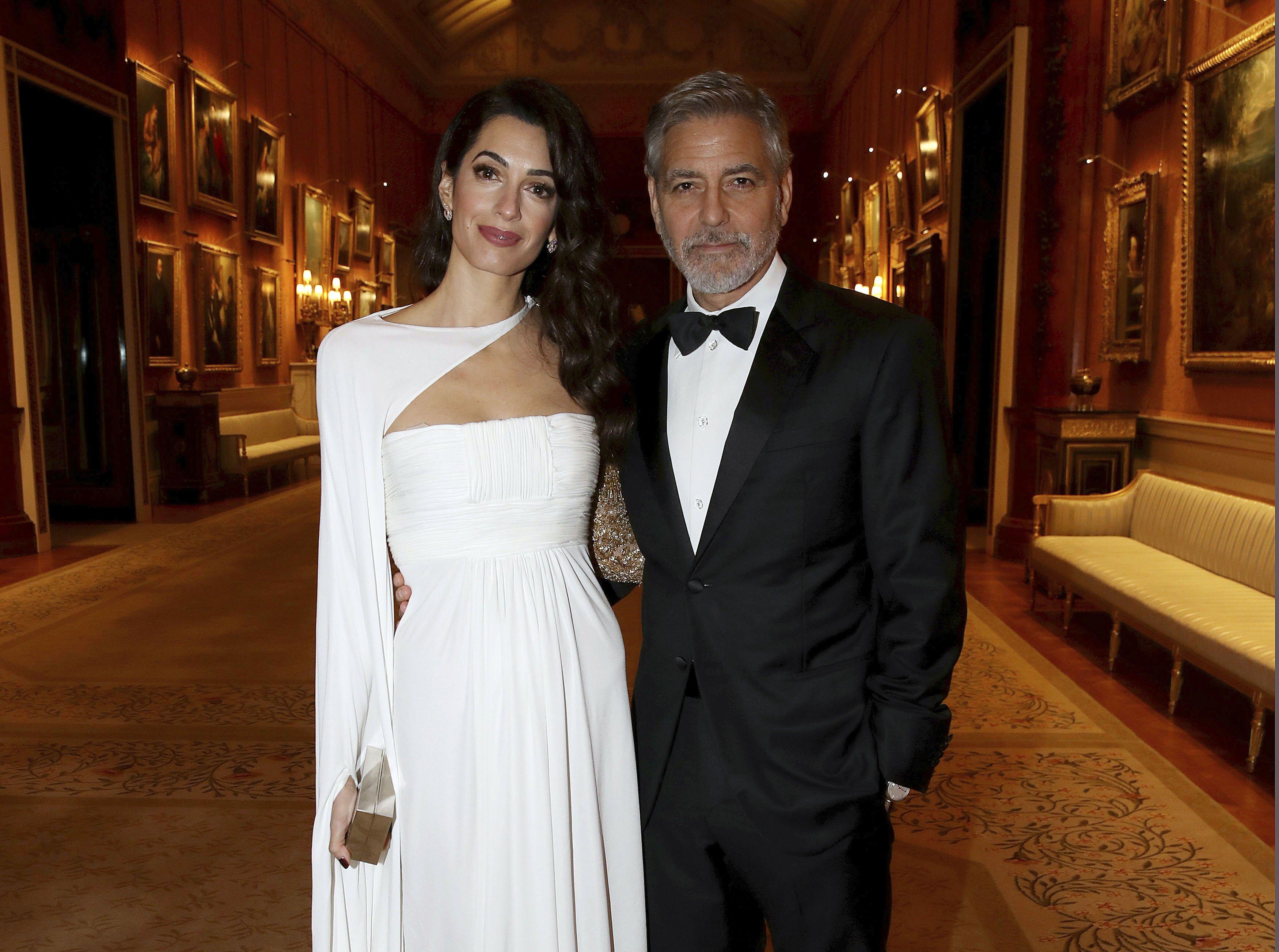 Джордж та Амаль Клуні_1