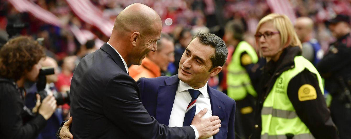"""Тренер """"Барселоны"""" с нетерпением ждет новые битвы с Зиданом"""