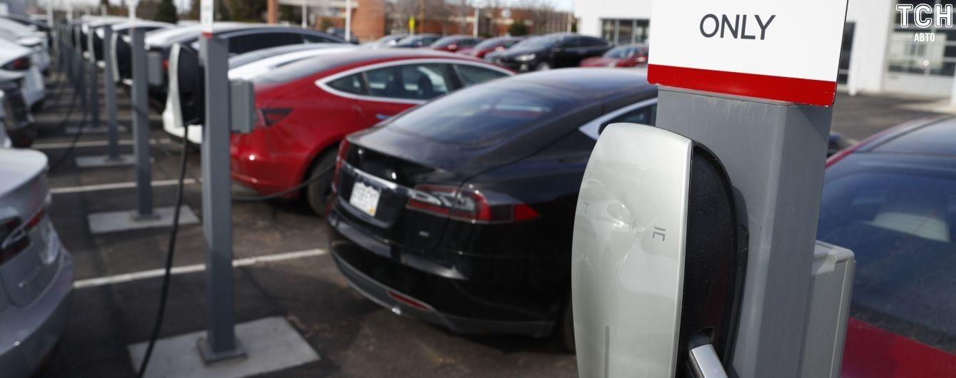 В Киеве зарегистрировано 41% электрокаров Tesla в Украине