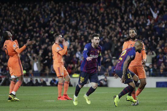 """""""Барселона"""" розбила """"Ліон"""" на """"Камп Ноу"""" і стала чвертьфіналістом Ліги чемпіонів"""
