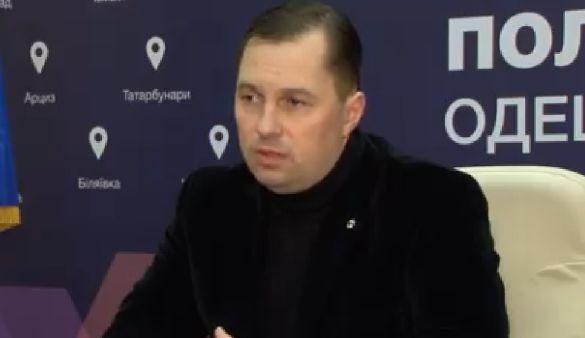 Дмитро Головін начальник поліції Одещини