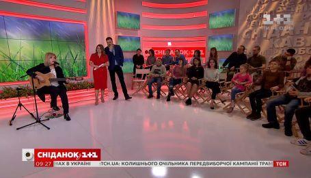 "Мария Бурмака посвятила песню ""Поцілуй мене на прощання"" украинским добровольцам"