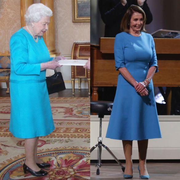 Королева Елизавета II - Нэнси Пелоси